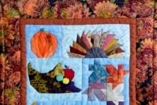 Fall quilt by Lynn.