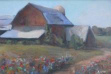 Lauretta Kelley barn painting