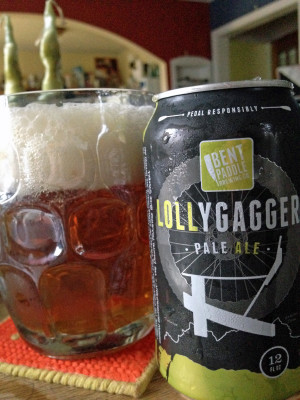 Bent Paddle's Lollygagger Pale Ale