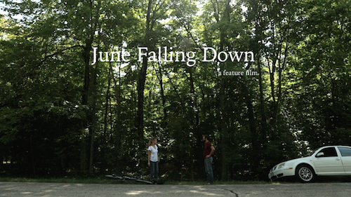 June Falling Down movie poster