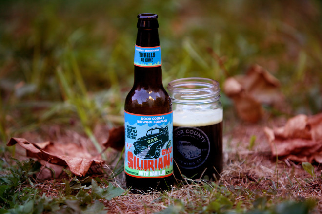 Silurian Stout with vanilla