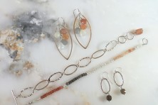 Jewelry by Irene McCormick.