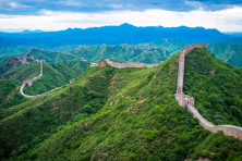 The Great Wall of China. Photo by Dale Johnson.