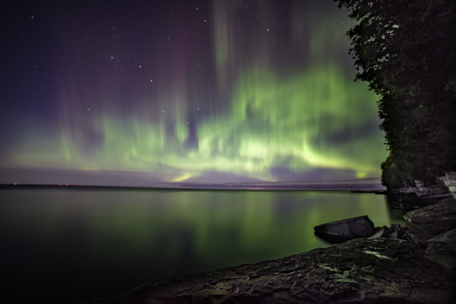 In Search Of The Northern Lights Door County Pulse