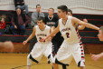 Hunter Ebel (#20) and Matt Newman (#2) look to be major contributors for the Pioneers.  Submitted.