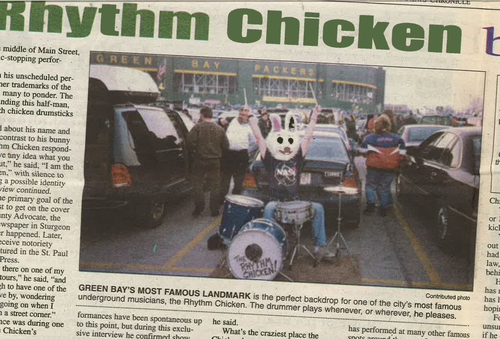 Lambeau Rhythm Chicken.