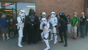 The 501st Legion surprises fans at Free Comic Book Day 2015. Submitted.