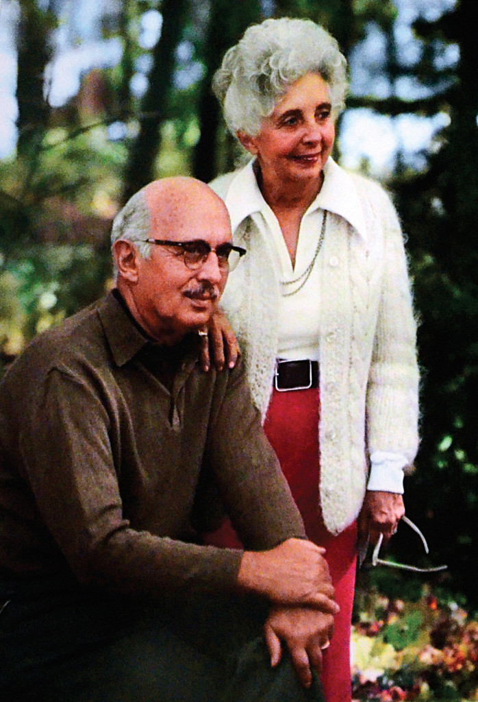 Miller and his second wife, Ruth.
