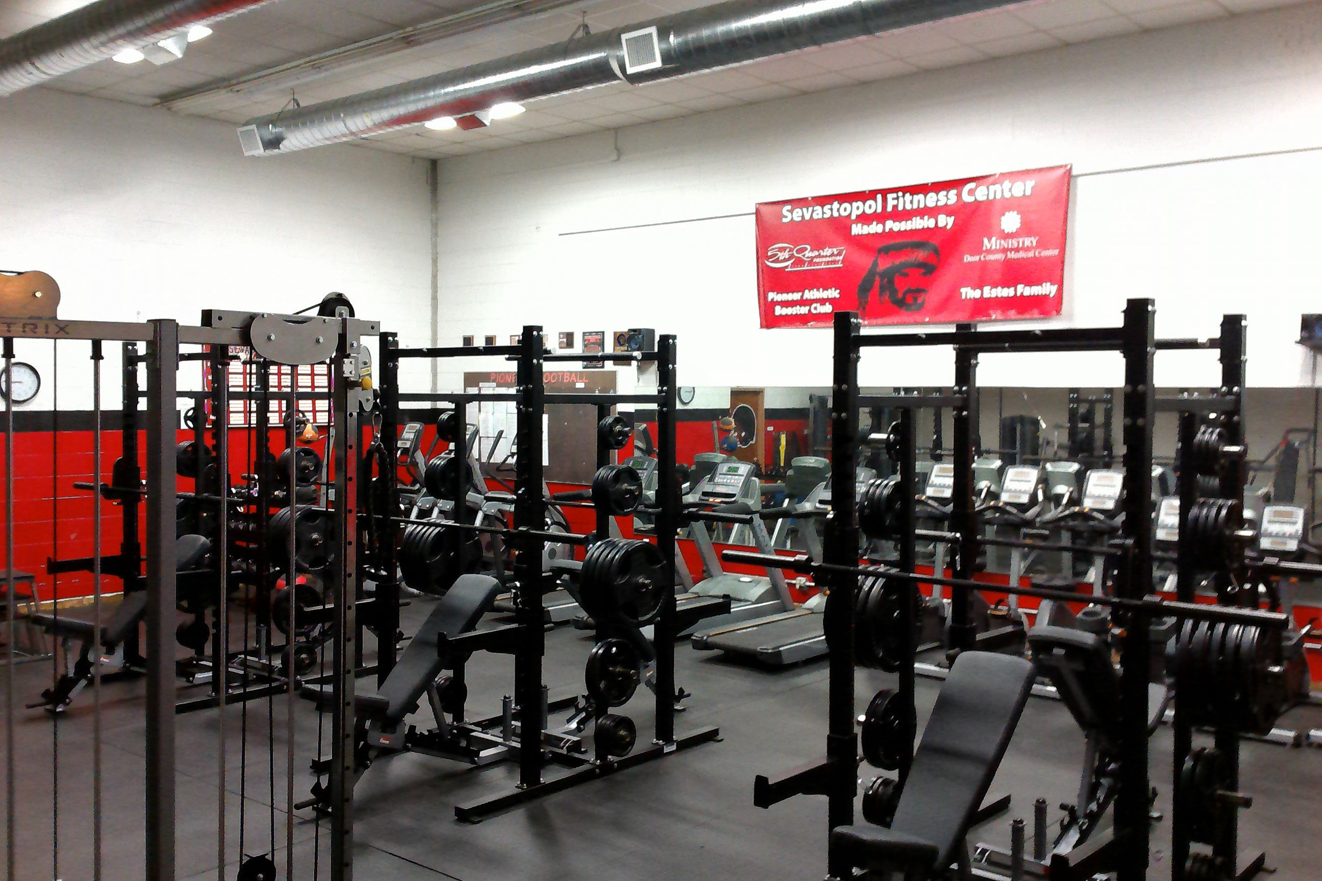 Sevastopol Fitness Center Upgrades