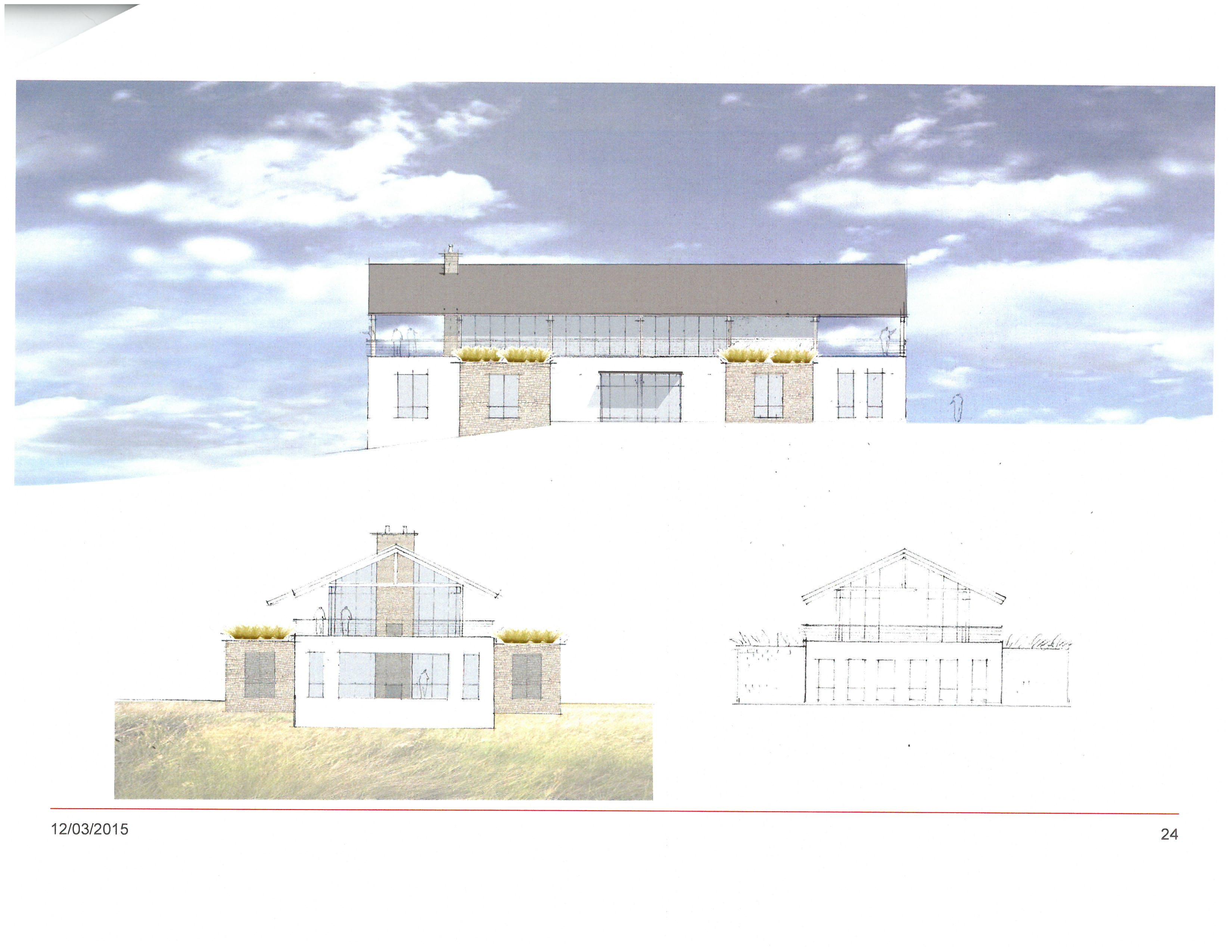 Egg Harbor Library Design Based on Rock Island Boathouse