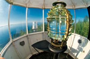 Len Villano, lighthouse light