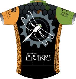 Nik Garvoille, bike shirt