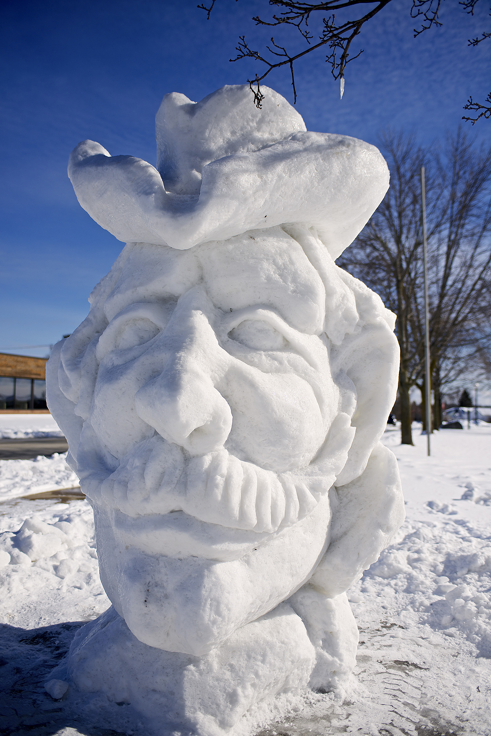 door county events calendar door county pulse witness novice intermediate advanced and professional carvers transform blocks of snow and ice into works