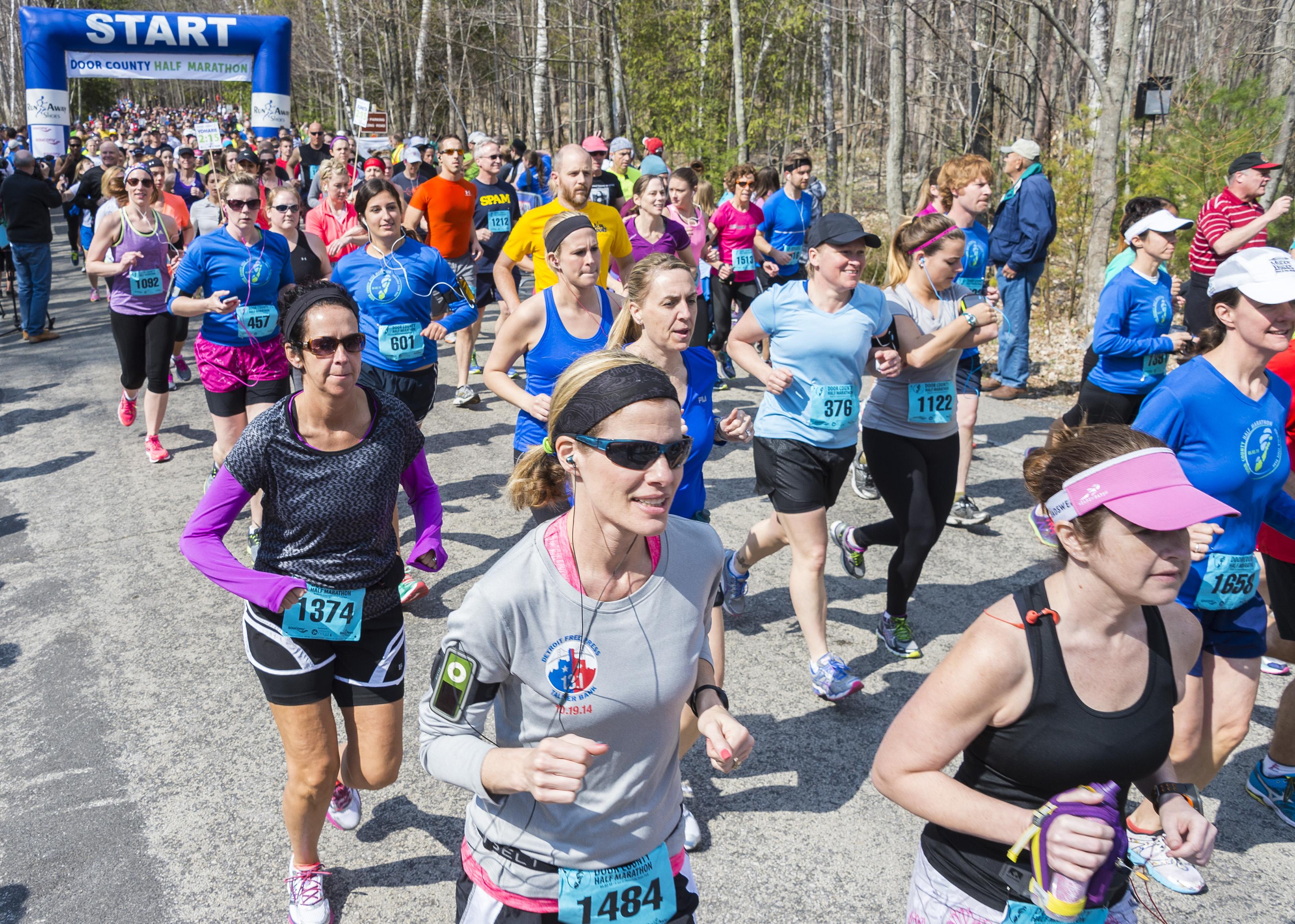 essay about running a marathon