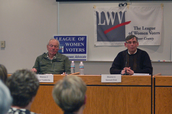 Sturgeon Bay Candidate Forum Between Old and Young