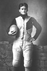 "Sturgeon Bay native, Eddie Cochems, was a football pioneer who is widely credited as being the ""father of the forward pass."" Photo credit: UW-Madison, 1900."