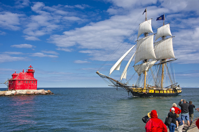 Tall Ships Return to Sturgeon Bay