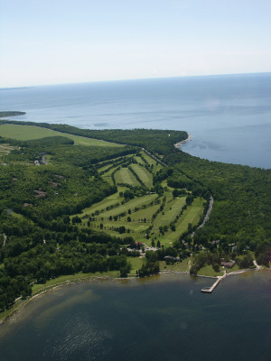 Alpine Golf Course aerial photo_Submitted