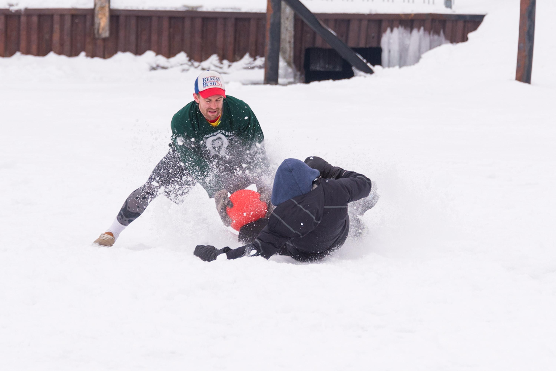 Fish Creek Winter Games Kickball LVP