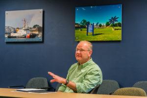 Sturgeon Bay Utilities General Manager Jim Stawicki.