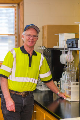 """""""Since 1973 we've never had an issue with anything. The only thing that we do, we are required to add a little bit of chlorine to make sure we have a chlorine residual at the end of our lines,"""" says recently retired Steve Jacobson, of the Sister Bay water utility."""
