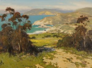 """Above Shark Harbor, Catalina Island"" by Brian Blood"