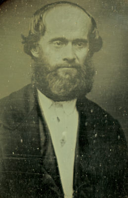 James Strang, prophet of the Beaver Island Mormons. Image courtesy of the Clarke Historical Library, Mount Pleasant, Michigan.