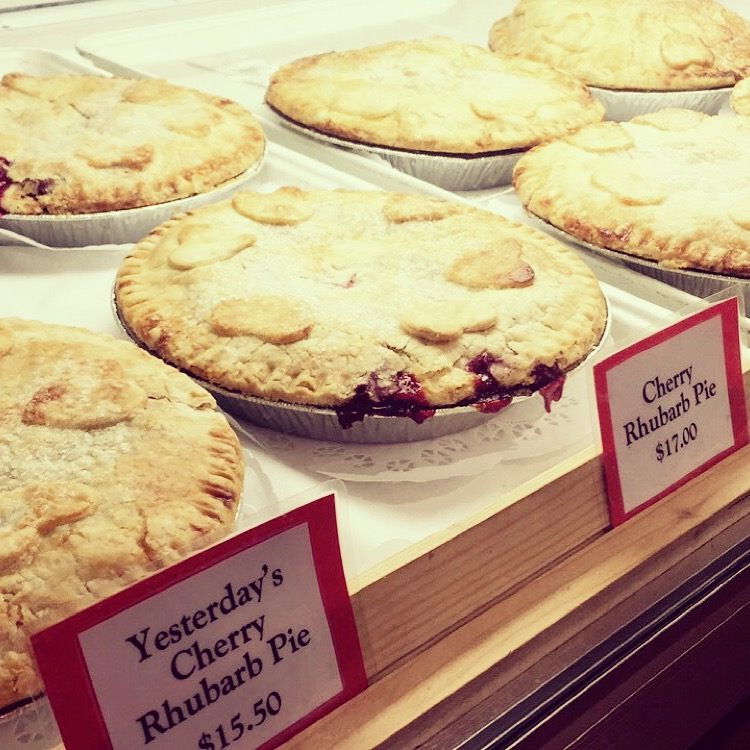 Pies at Seaquist Orchards Farm Market, one of the four Door County businesses to be featured in the Discover Wisconsin episode. Submitted.