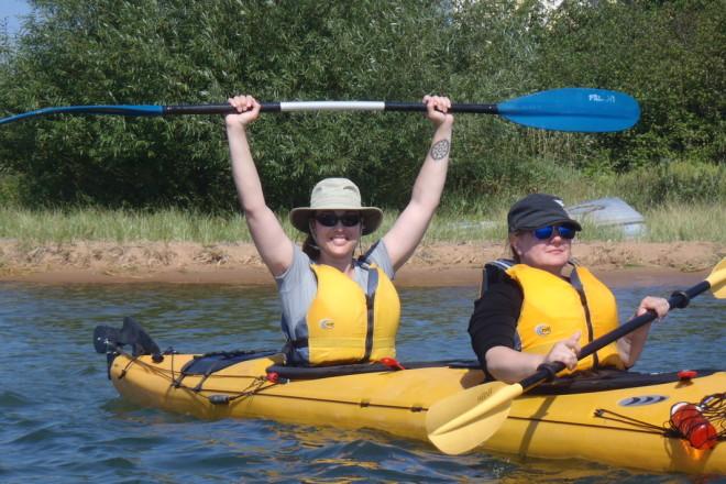 Door County Adventure Center Offers Women's Kayaking Retreat