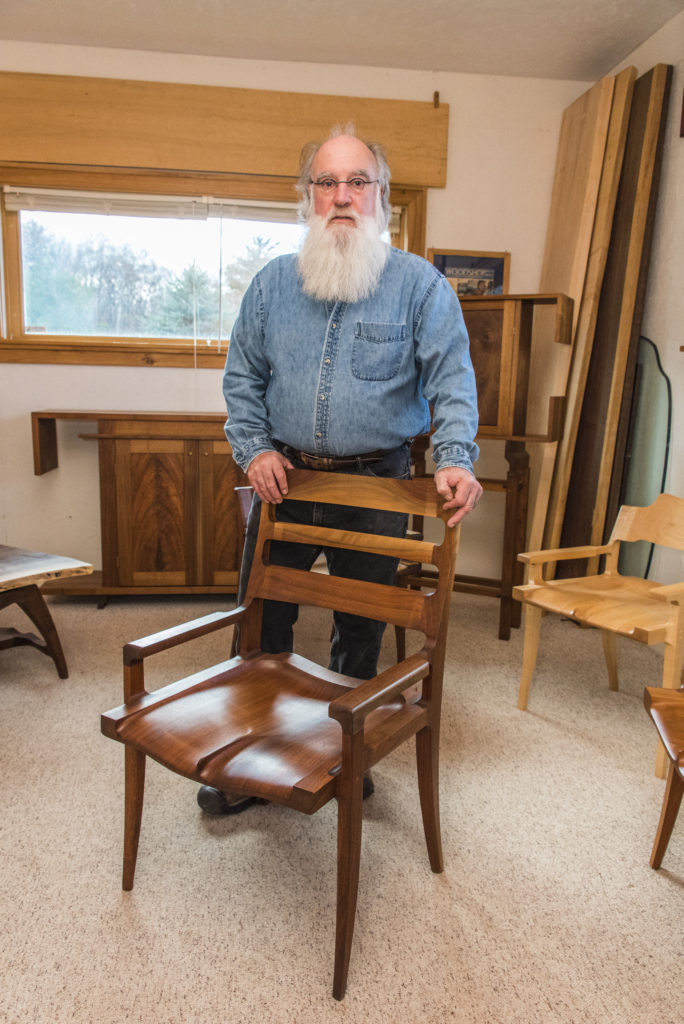 An Artisan Of Comfort Furniture Maker Michael Doerr Door County Pulse
