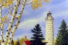 Cana Island Lighthouse. Cathy Glasnap.