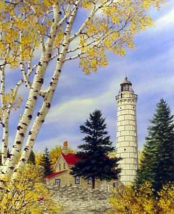 Cana Island Lighthouse. Cathy Glasnap.