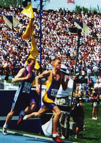 Chris Horvat was a NCAA national champion and six-time All-American for UW-Stevens Point. He currently serves as Sevastopol's head coach for cross country and track and field. Submitted.