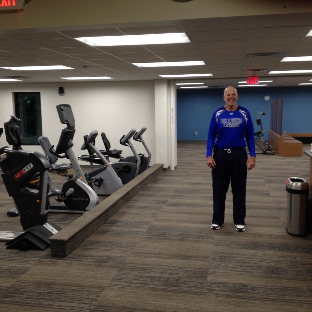 Ephraim Village President Mike McCutcheon was the last member out of the old lifestyle center on & Northern Door YMCA Opens Doors to New Lifestyle Center - Door County ...