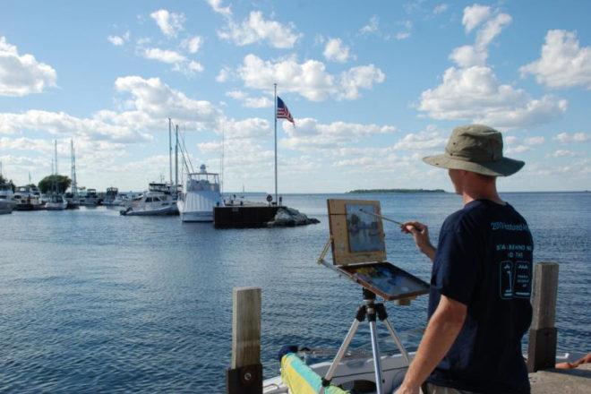 Fish Creek To Host Inaugural Quot Art After Dark Quot Event Door