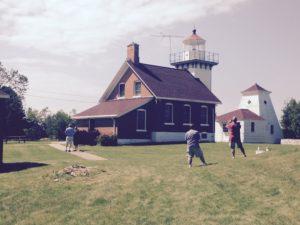 Sherwood Point Lighthouse.