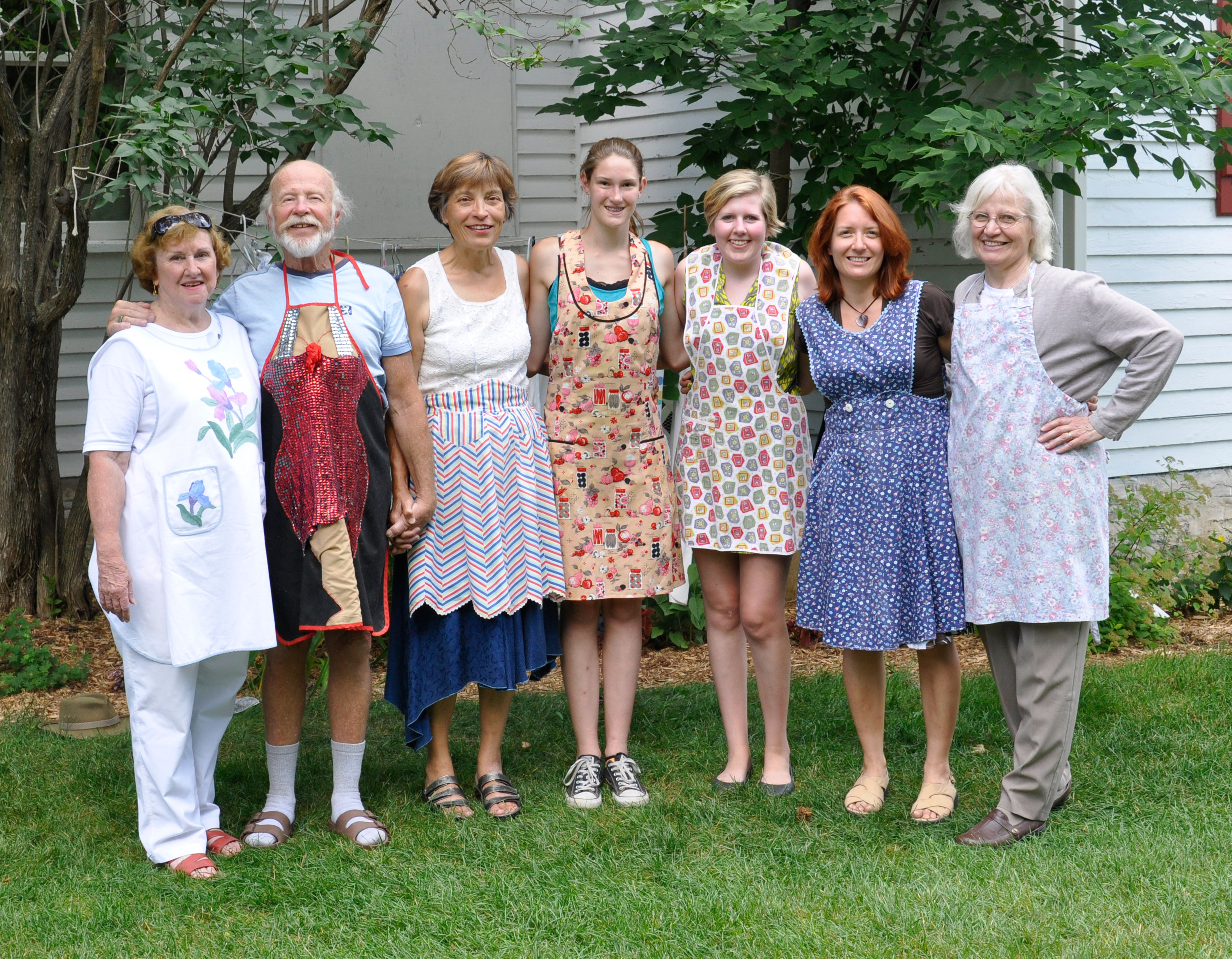 Sweetie Pies Presents Vintage Apron Style Show - Door County Pulse