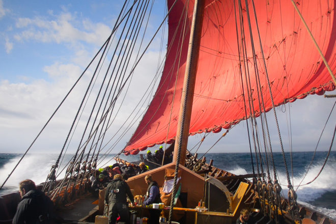 Viking Ship Almost Stalled for Lack of Pilot