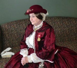 Jessica Michna as Mary Todd Lincoln. Submitted photos.