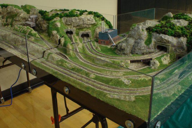 Heritage Village Presents Model Train Displays Door