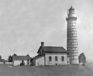 Cana Island Lighthouse. 1913.