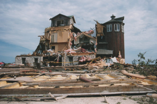 PHOTOS:  Tornado Devastated Egg Harbor in 1998