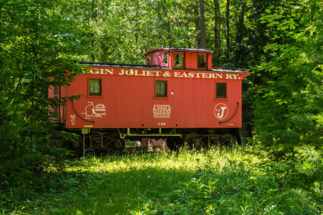 All Aboard This Abode: A Caboose Becomes a Home
