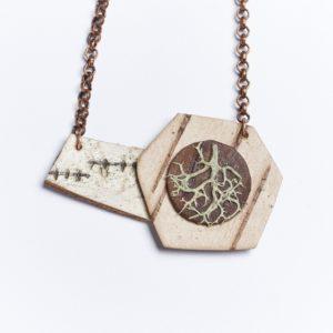 """Ancient Collection Necklace"" by Deborah Bushinski."