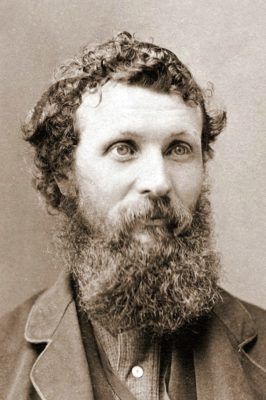 John Muir circa 1875.