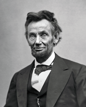 President Abraham Lincoln. Public domain image.