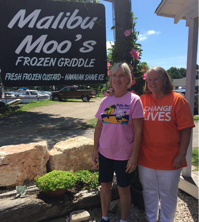 malibu moo s donates portion of sundae proceeds to ms 50 mile