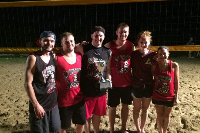 Northern Door Volleyball League 2016 Final Standings