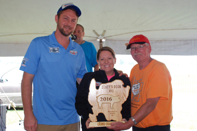 Shake N Bake Bbq Wins Grand Champion Of Death S Door Bbq