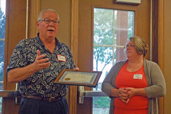 Kangaroo Lake Association Recognized for Good Stewardship